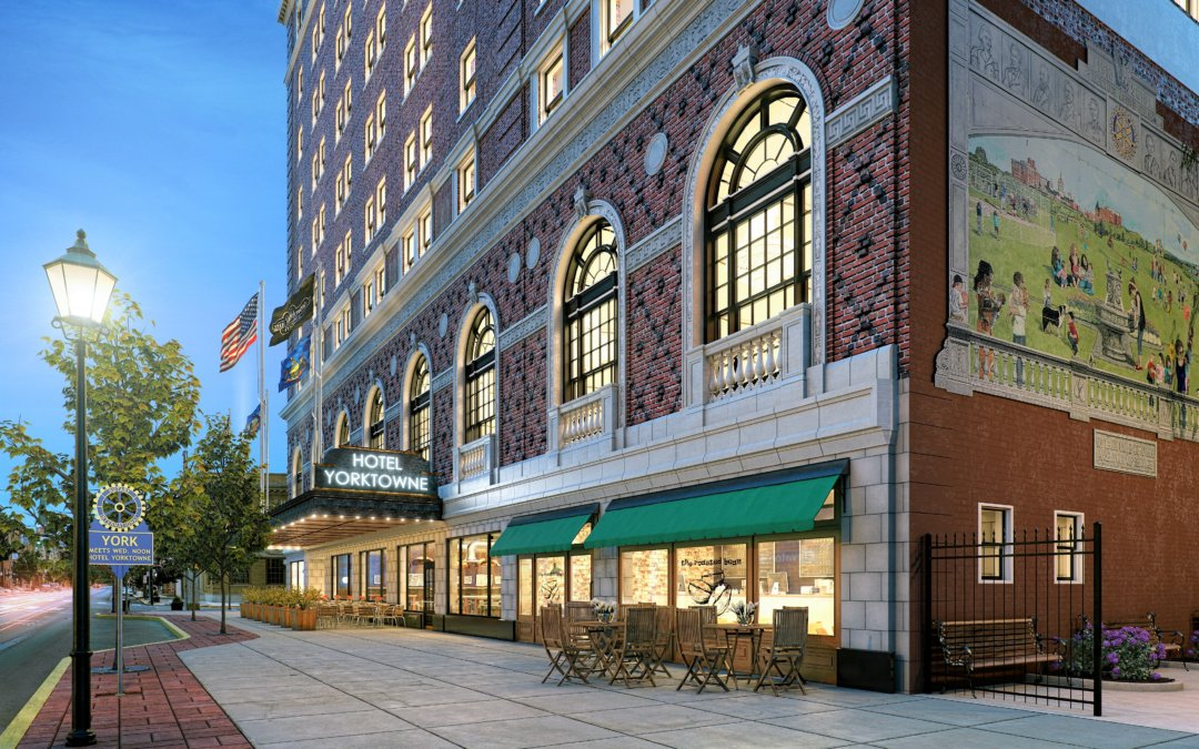 York County Industrial Development Authority Announces Artist Inclusion at Yorktowne Hotel